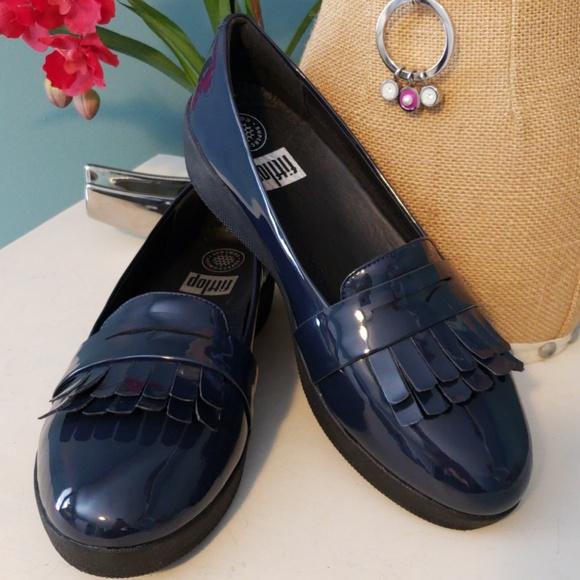 5208daaffc0 💖FITFLOP Fringey Sneakerloafer Ballet Flat